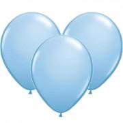 100 Luftballons in Hellblau