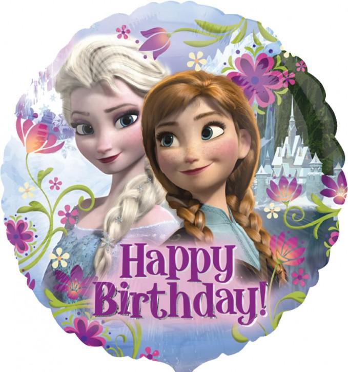 Folienballon Frozen - Happy Birthday (43cm)