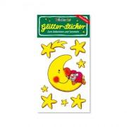 Weihnachtstraum Glitter Sticker