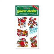 Nikolaus Glitter Sticker