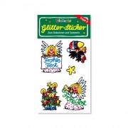 Engel II Glitter Sticker
