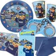 103-teiliges Set: Paul der Polizist