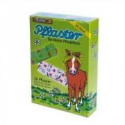 20 Kinder-Pflaster Pferde