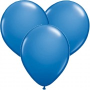 100 Luftballons in Blau