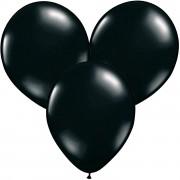 100 Luftballons in Schwarz