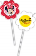 6 Trinkhalme Minnie und Daisy