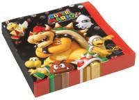 20 Servietten Super Mario Bros.