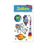 Weltraum Tattoos