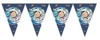 3,5m Wimpelkette Astronaut Flo