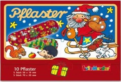 10 Kinder-Pflaster Weihnachten