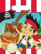 6 Partytüten Jake und die Nimmerland Piraten