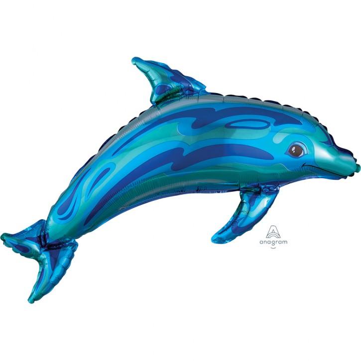 Supershape Folienballon - Delfin (84x56cm)