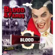 Vampir Zähne und Blutgel im Set