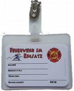 Ausweis Feuerwehr