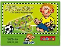 10 Kinder-Pflaster Fußball