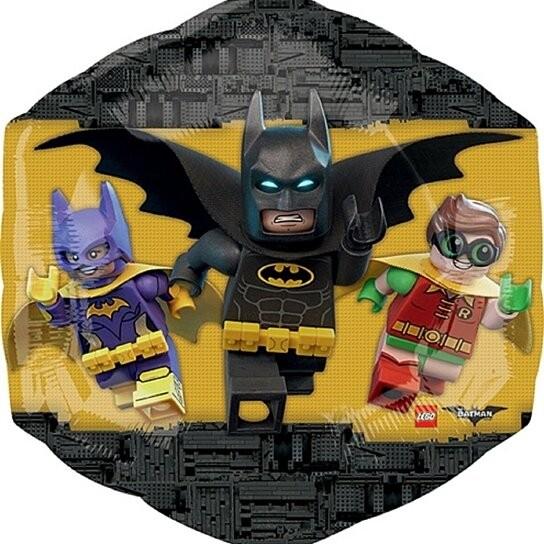 Supershape Lego Folienballon - The Batman Movie (58x55cm)