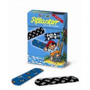 20 Kinder-Pflaster Pirat Pit Planke