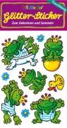 Froschkönig Glitter Sticker