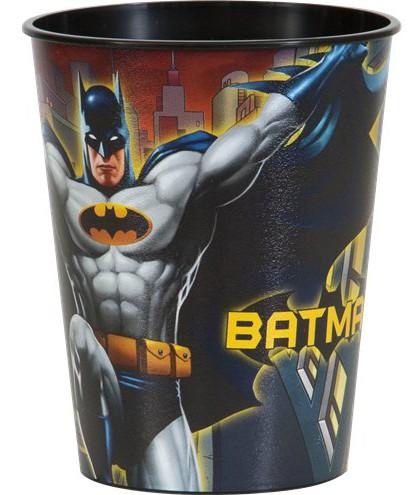 4 Kunststoff-Becher Batman