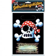 8 Piraten Partytüten Jolly Roger