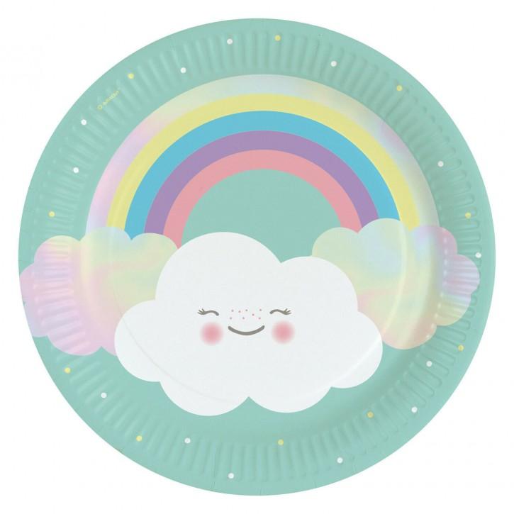 8 Teller - Kleine Wolke