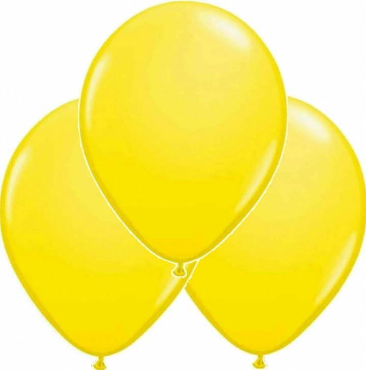 6 Luftballons - Gelb