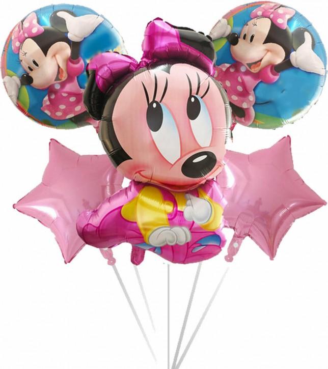 Folienballon-Set Baby Minnie