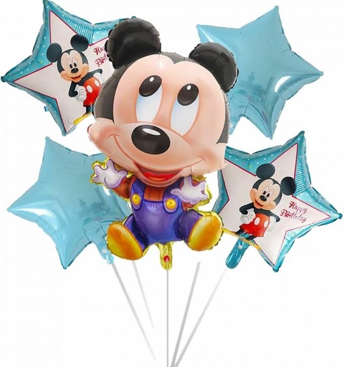 Folienballon-Set Baby Mickey