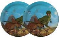 8 Teller Dinos und T-Rex