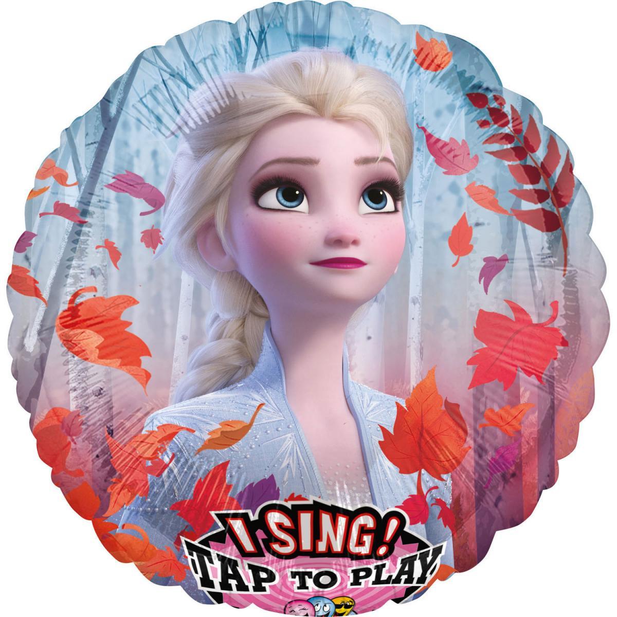 Singender Folienballon Frozen 2