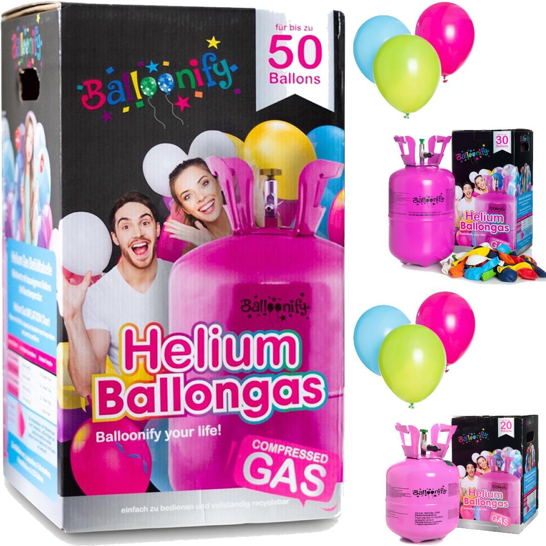 Helium/Ballongas und Zubehör