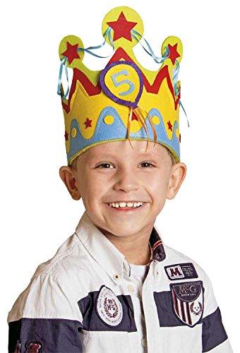 Geburtstags-Krone für Kindergeburtstag für Jungen