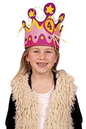 Geburtstags-Krone für Kindergeburtstag für Mädchen