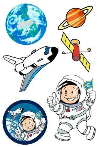 Tattoos von Astronaut Flo