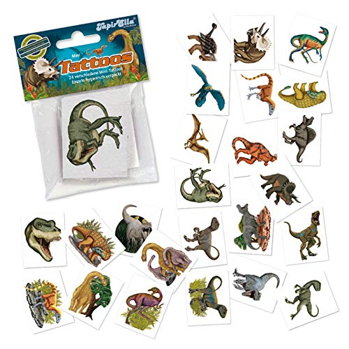 "Tattoo-Set ""Dinos"" - 24 verschiedene Motive"