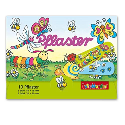 10 Kinder-Pflaster Frühlingstiere