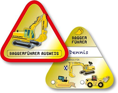 6 Baggerführer-Ausweise