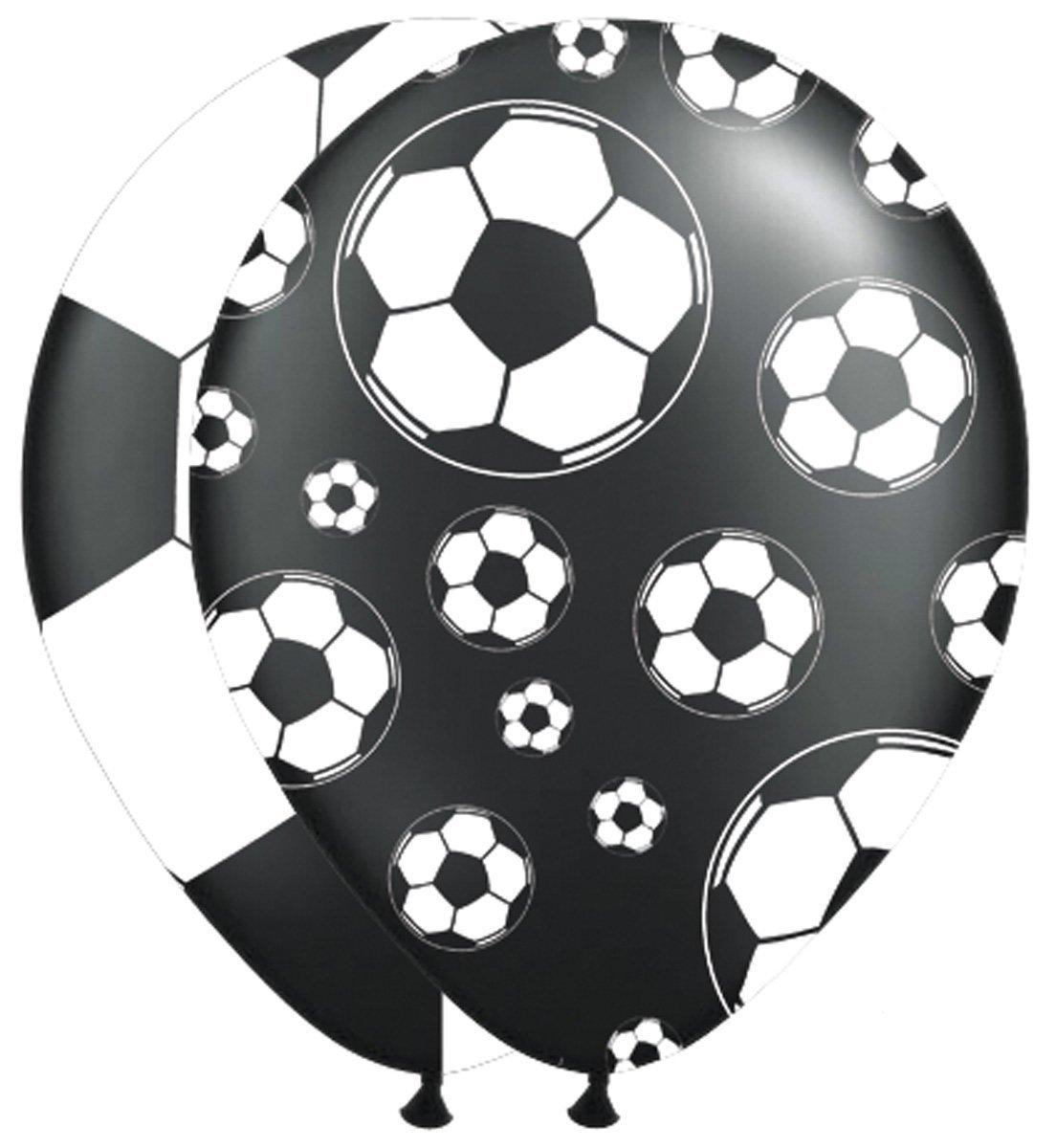 8 Luftballons Fußball Stadion