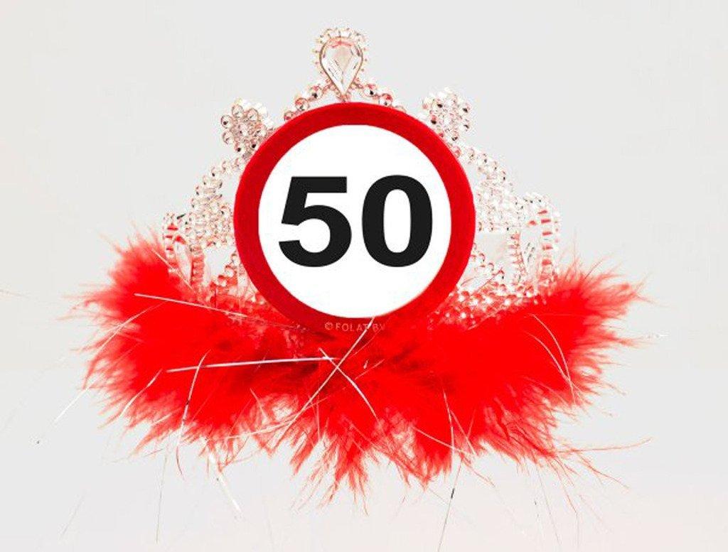 Diadem / Krone 50. Geburtstag