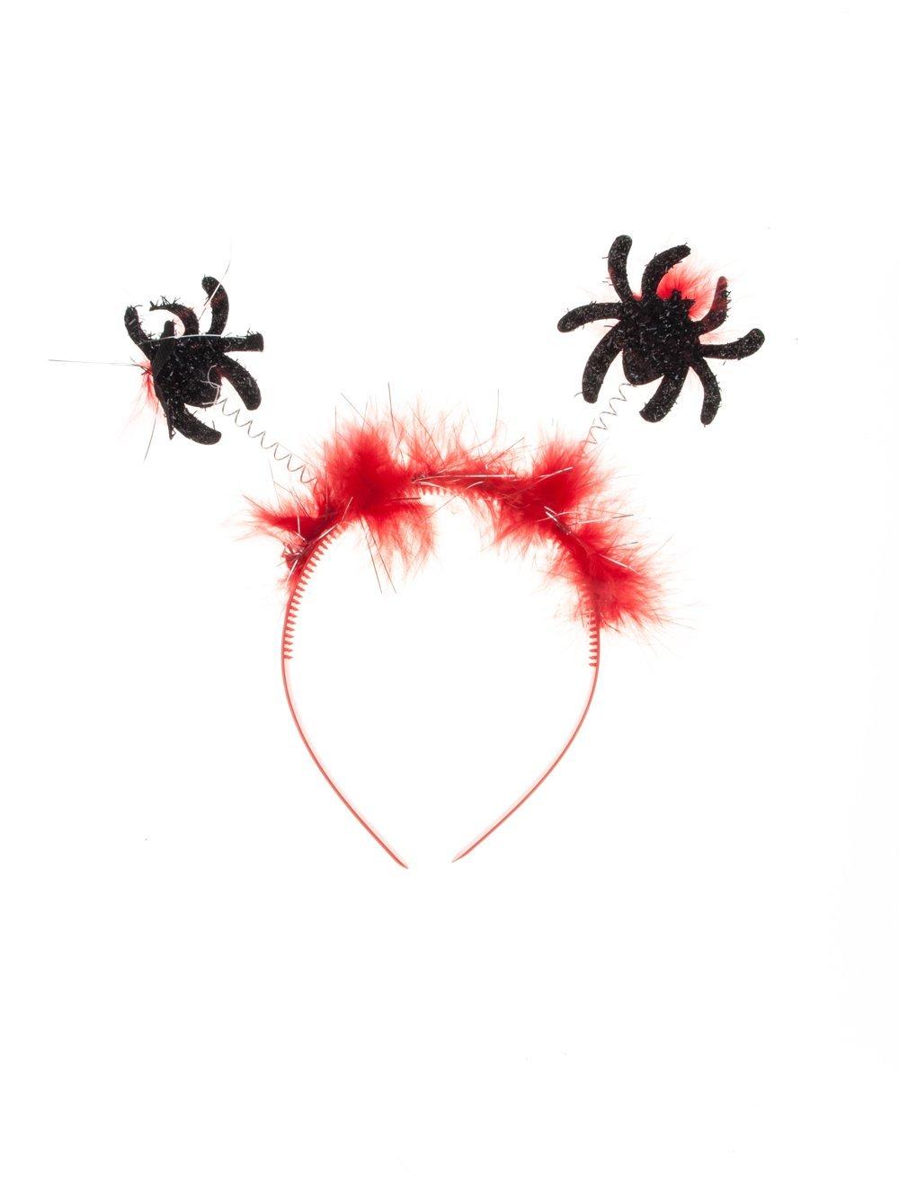 Haarreif mit Spinnen