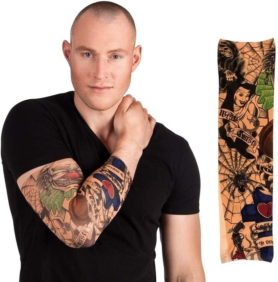 Fake-Tattoo Ärmel für Männer