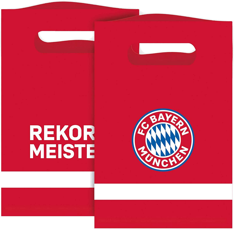 8 Partytüten FC Bayern München
