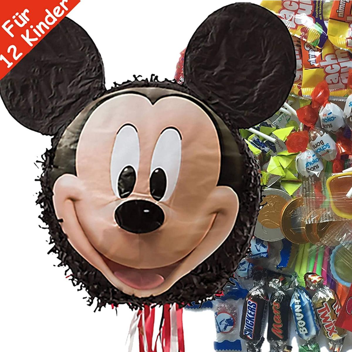 Pinata Mickey Mouse im Set
