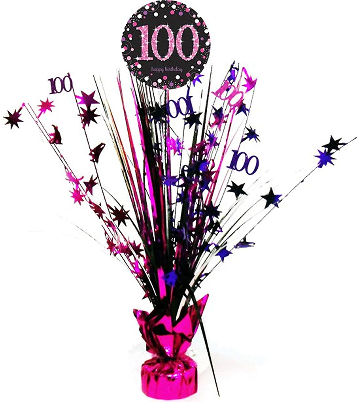 Centerpiece 100. Geburtstag - Sparkling Pink