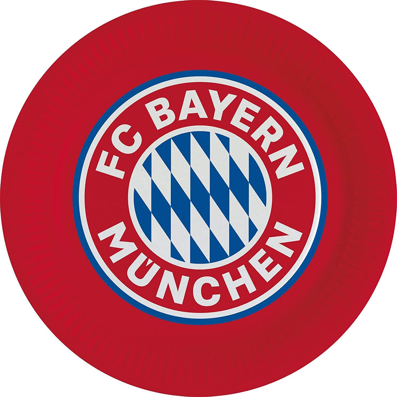 8 Partyteller FC Bayern München