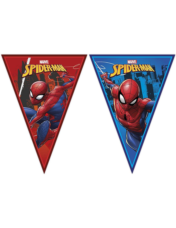 Wimpelkette Spiderman - Team Up!