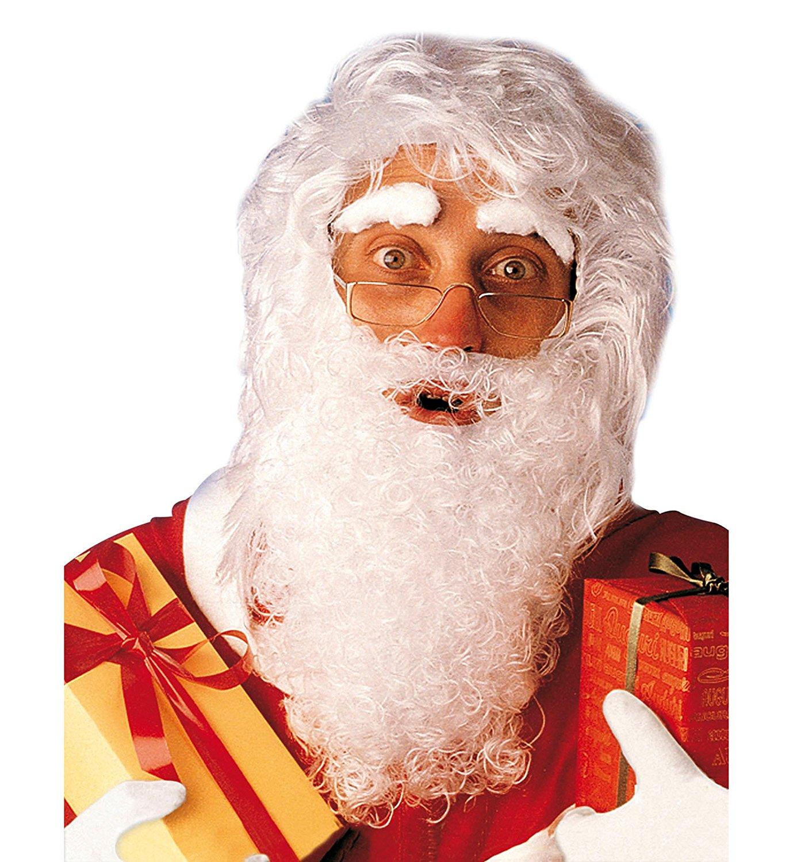 Bart und Augenbrauen Weihnachtsmann