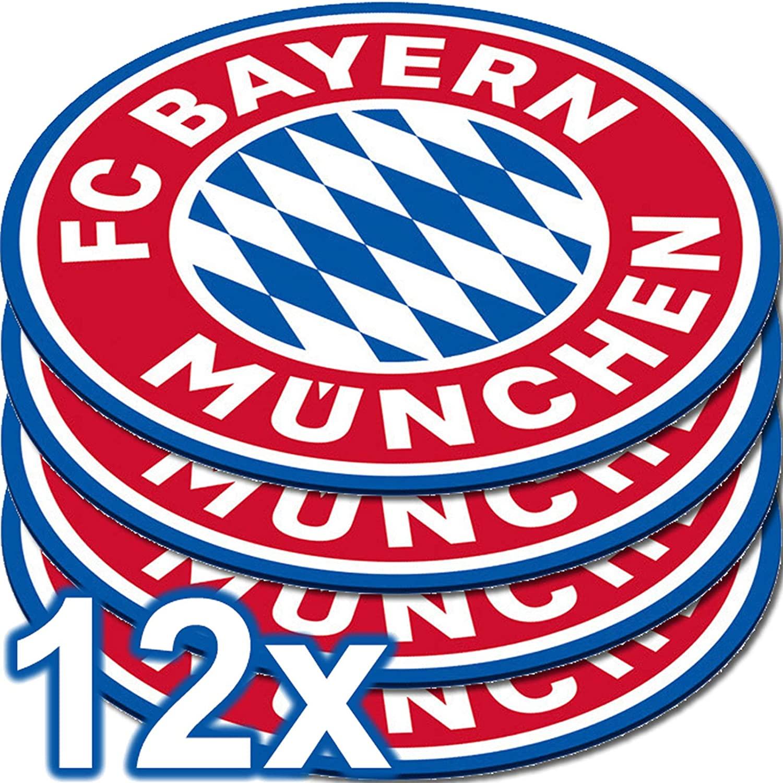 12 Untersetzer FC Bayern München