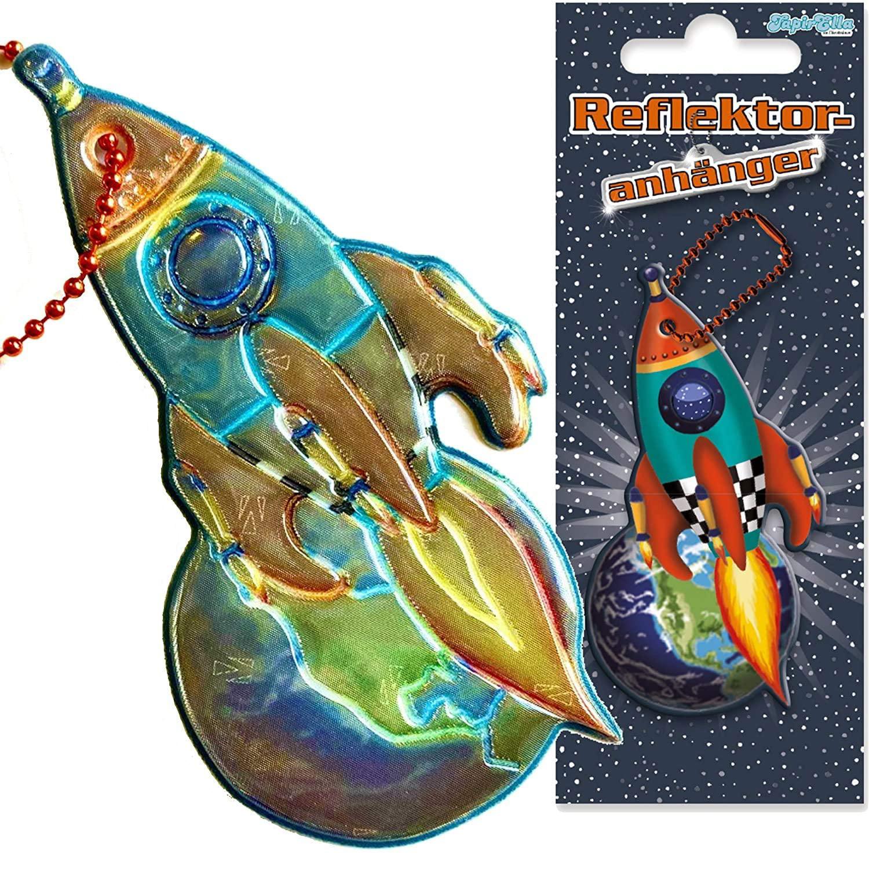 Reflektor-Anhänger Rakete
