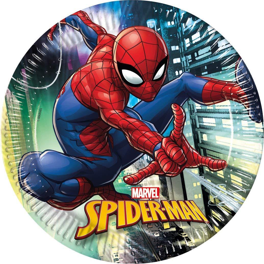 8 Teller Spiderman - Team Up!